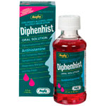 Diphenhist Oral Solution, For Children, Alcohol Free, 4 oz, Watson Rugby