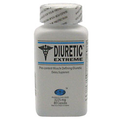 Diuretic Extreme, 80 Capsules, CTD Labs
