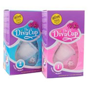 DivaCup (Diva Cup), Menstrual Cup, Model 2 Post Childbirth, 1 Unit, Diva International
