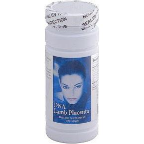 DNA Lamb Placenta, Beauty Supplement, 100 Softgels, Nu Health