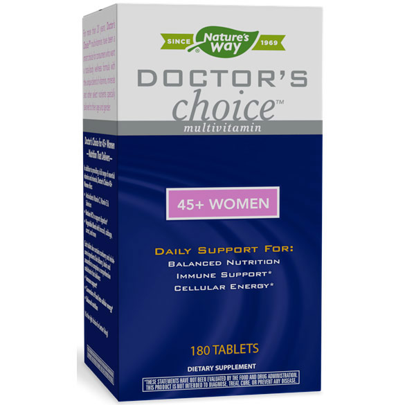 Doctors Choice 45+ Women, 180 Tablets, Enzymatic Therapy