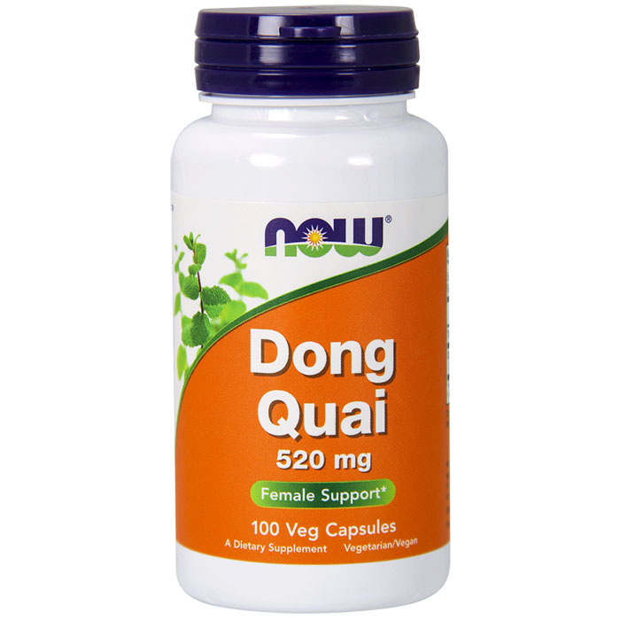 Dong Quai 520 mg, 100 Vegetarian Capsules, NOW Foods