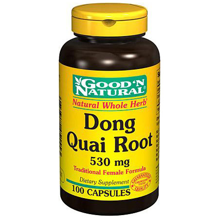 Dong Quai 530 mg, 100 Capsules, Good 'N Natural