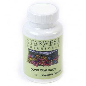 Dong Quai Root 100 Caps 520 mg, StarWest Botanicals