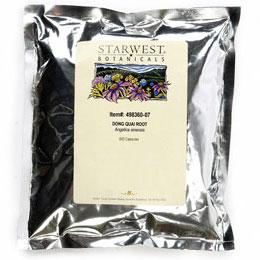 Dong Quai Root 500 Caps 520 mg, StarWest Botanicals