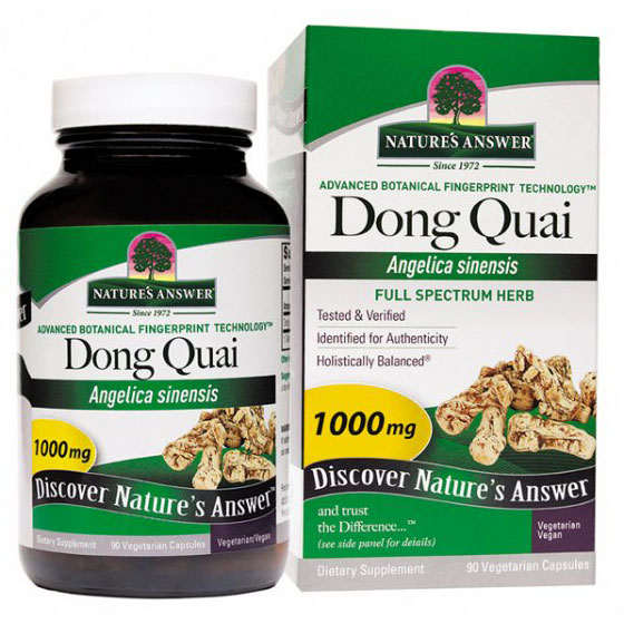 Dong Quai Root 90 vegicaps from Nature's Answer