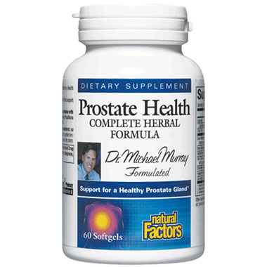 Dr. Murrays Prostate Health 60 Softgels, Natural Factors