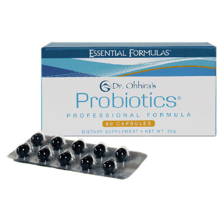 Dr. Ohhiras Probiotics Professional Formula, Powerful & Unique, 60 Capsules, Essential Formulas