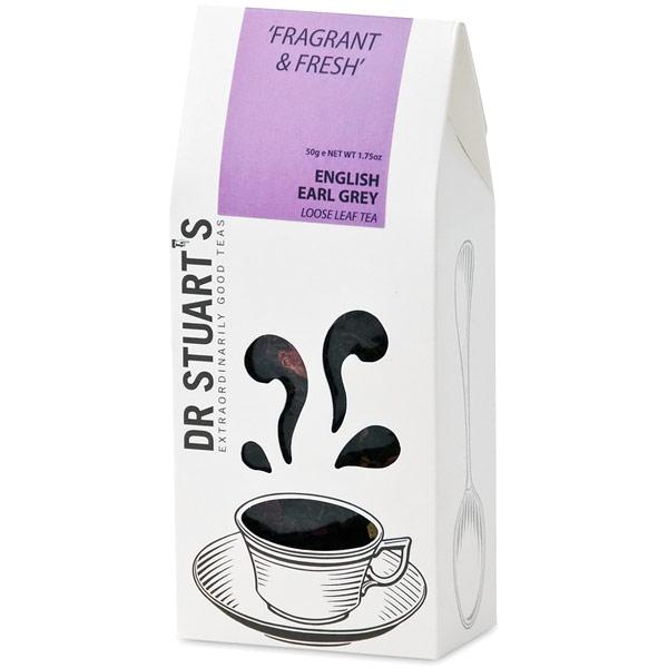 Dr. Stuarts English Earl Grey Loose Leaf Tea, 50 g