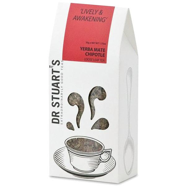Dr. Stuart's Yerba Mate Chipotle Loose Leaf Tea, 50 g