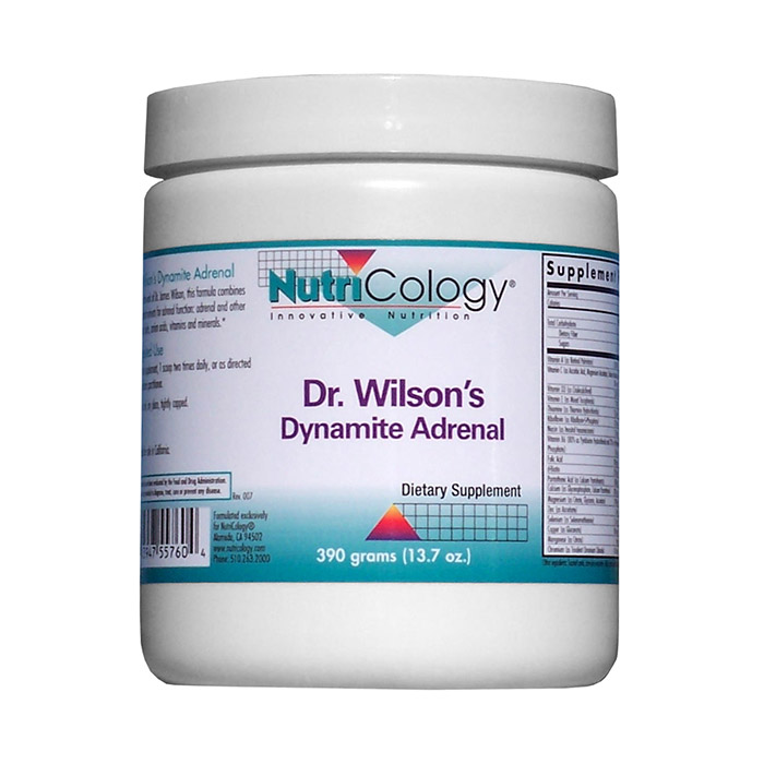 Dr. Wilsons Dynamite Adrenal, 900 g, NutriCology