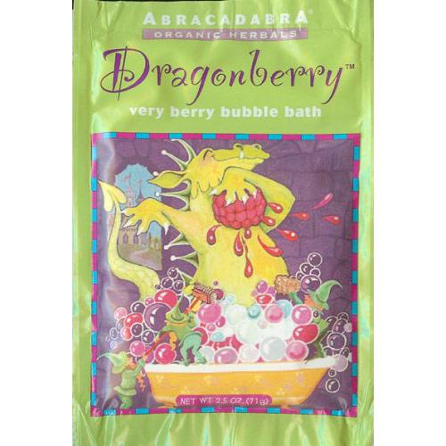 Dragonberry Very Berry Bubble Bath for Children, 2.5 oz, Abra Therapeutics