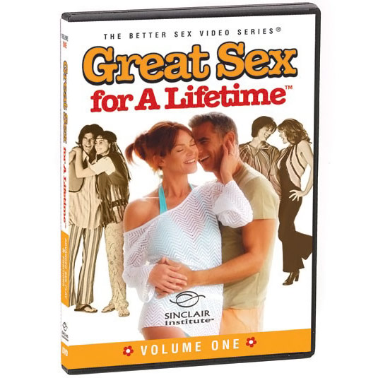 (DVD) Great Sex For A Lifetime - Landmark Series: Volume 1, Advanced Sex Play & Positions, 64 mins, Sinclair Institute