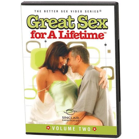 (DVD) Great Sex For A Lifetime - Landmark Series: Volume 2, Expanding Sexual Pleasures, 62 mins, Sinclair Institute