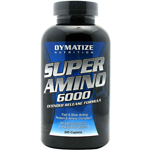 Dymatize Nutrition Super Amino 6000, 345 Caplets
