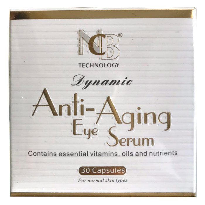 Dynamic Anti-Aging Eye Serum, 30 Capsules, NCB Technology Corp.