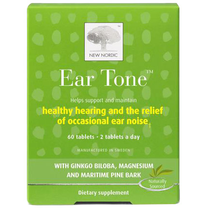 Ear Tone, 60 Tablets, New Nordic