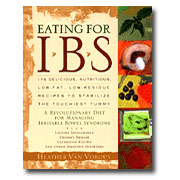 Eating for IBS, by Heather Van Vorous, 1 Book, Heathers Tummy Care
