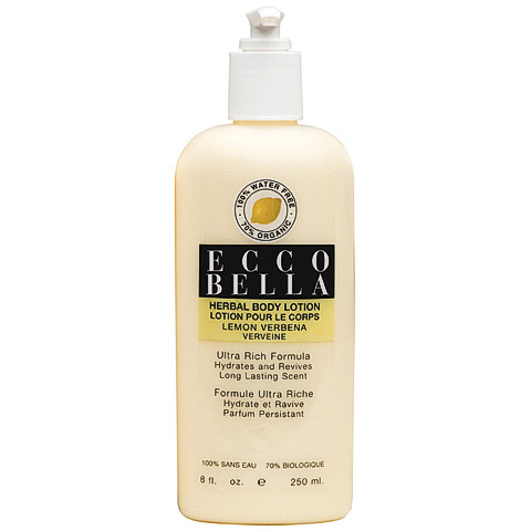 Ecco Bella Herbal Body Lotion Lemon Verbena 8.5 oz - CLICK HERE TO LEARN MORE