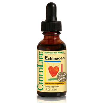 ChildLife Echinacea Liquid For Children, Natural Orange, 1 oz