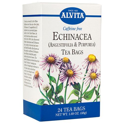 Echinacea Tea, 24 tea bags, Alvita Tea