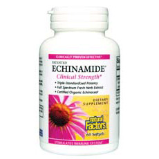 Echinamide Clinical Strength 60 Softgels, Natural Factors