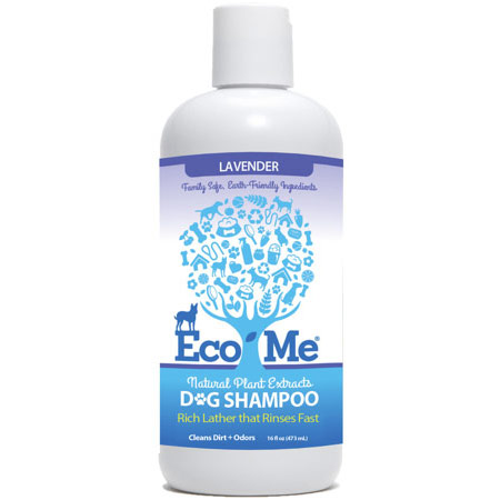 Eco-Me Dog Shampoo, Natural Plant Extracts, Lavender, 16 oz