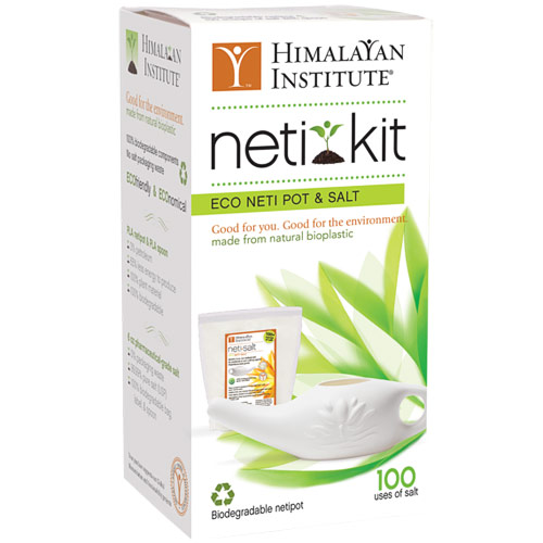 Image of Eco Neti Pot & Salt Kit, 1 Kit, Himalayan Institute Press