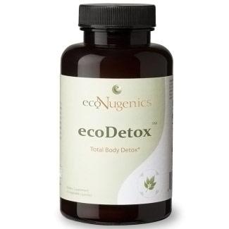 EcoDetox, Total Body Detox, 90 Vegetable Capsules, EcoNugenics