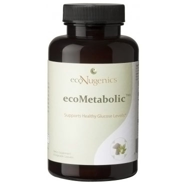EcoMetabolic, Supports Healthy Glucose Levels, 90 Vegetable Capsules, EcoNugenics