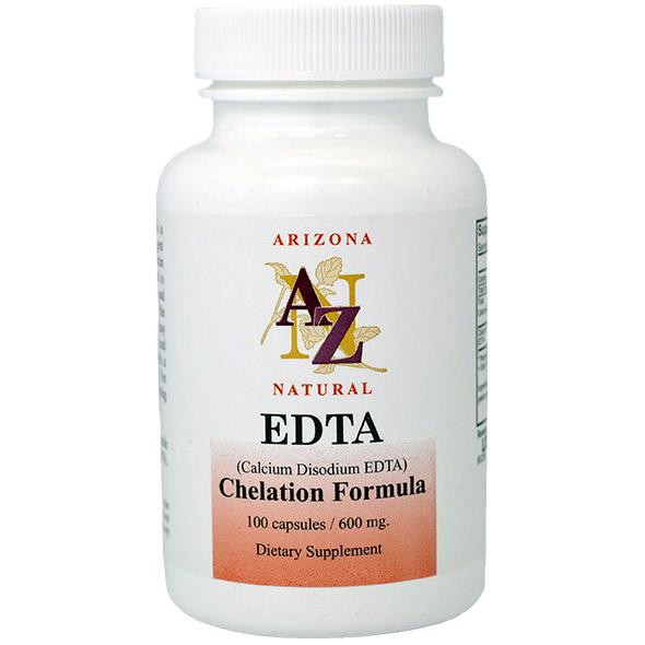 EDTA 600 mg, 100 Capsules, Arizona Natural
