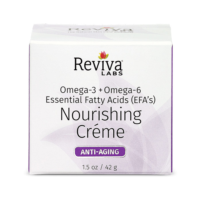 Reviva Labs Nourishing Cream with EFA Oils, 1.5 oz