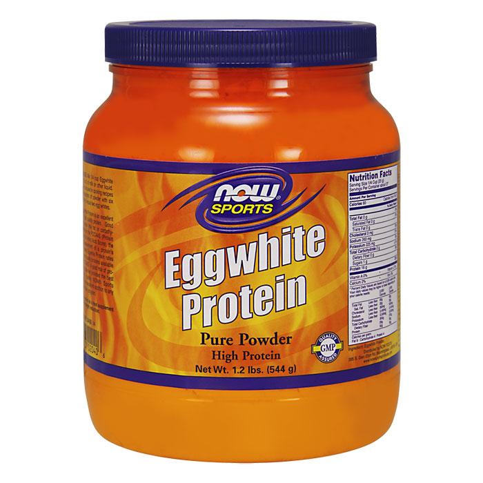 EggWhite Protein Powder, 1.2 lb, NOW Foods