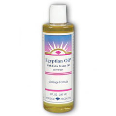 Egyptian Oil with Extra Peanut Oil, 8 oz, Heritage Products