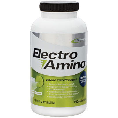 Electro Amino, BCAA & Electrolyte Chewies, 120 Tablets, High Energy Labs