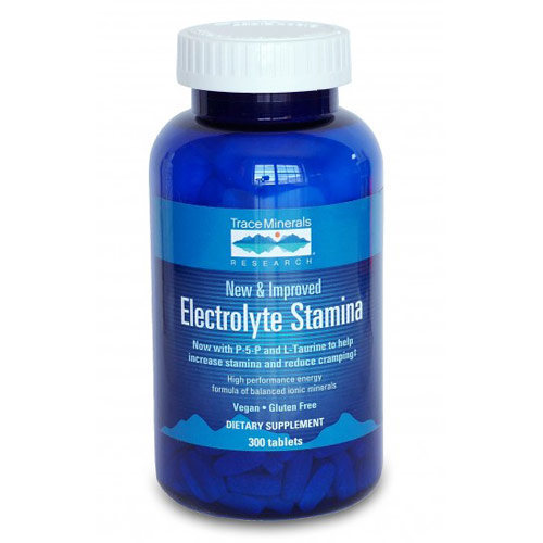 Electrolyte Stamina (High Performance Energy), 300 Tablets, Trace Minerals Research