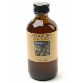 Eleuthero Root Extract Liquid 4 oz Organic, StarWest Botanicals