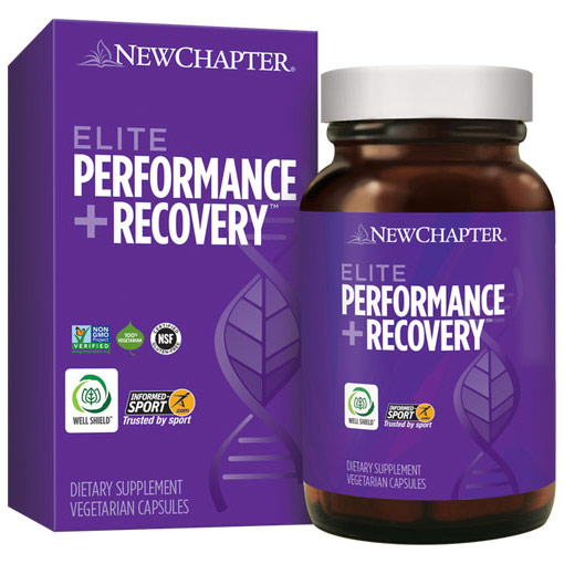 Elite Performance + Recovery, 60 Vegetarian Capsules, New Chapter