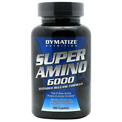 Super Amino 6000, 180 Caplets, Dymatize Nutrition