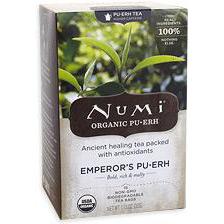 Emperor's Pu-Erh Tea (PuErh, Pu Erh), 16 Tea Bags, Numi Tea