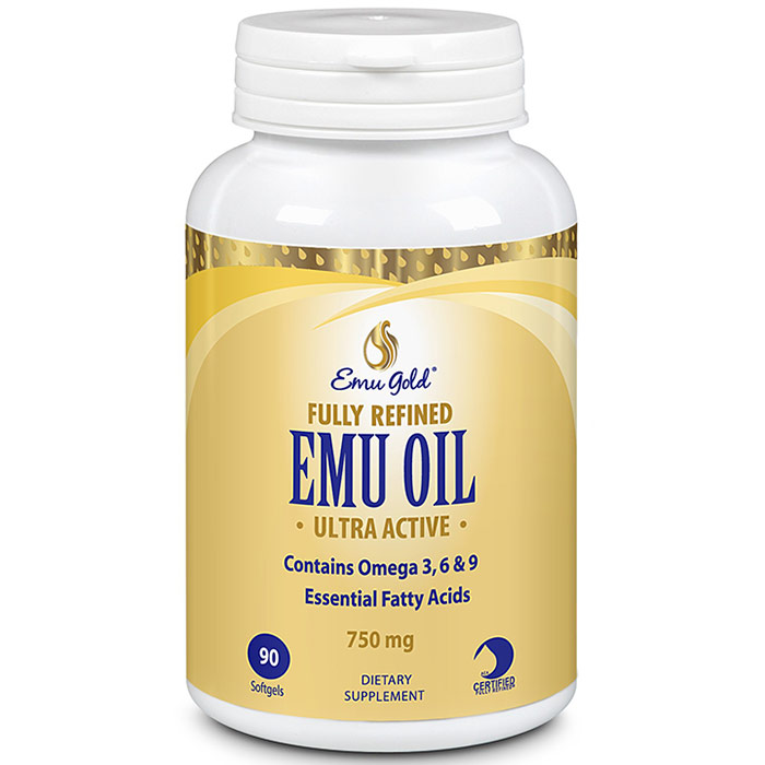 Ultra Emu Oil, Extra Strength, 750 mg, 90 Softgels, Emu Gold