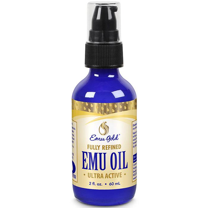 All Natural Emu Oil, Extra Strength, 2 oz, Emu Gold