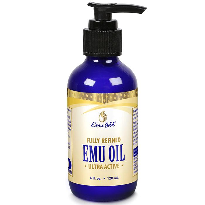 All Natural Emu Oil, Extra Strength, 4 oz, Emu Gold