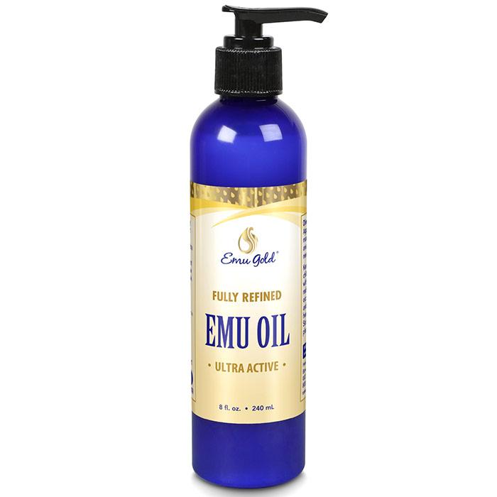 All Natural Emu Oil, Extra Strength, 8 oz, Emu Gold