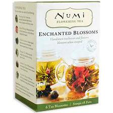Flowering Tea Gift Set with Teapot Box, 1.29 oz, Numi Tea: Enchanted Blossoms, Refill for Flowering Tea Gift Set, 1.29 oz, Numi Tea