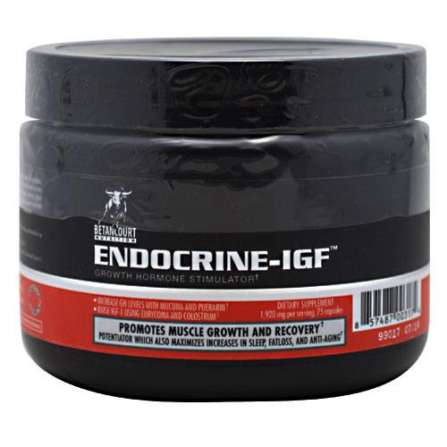 Endocrine-IGF Growth Hormone Stimulator (Endocrine IGF) 75 Capsules, Betancourt Nutrition