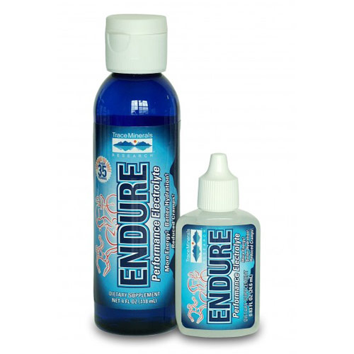 Endure Performance Electrolyte Liquid, 4 oz, Trace Minerals Research