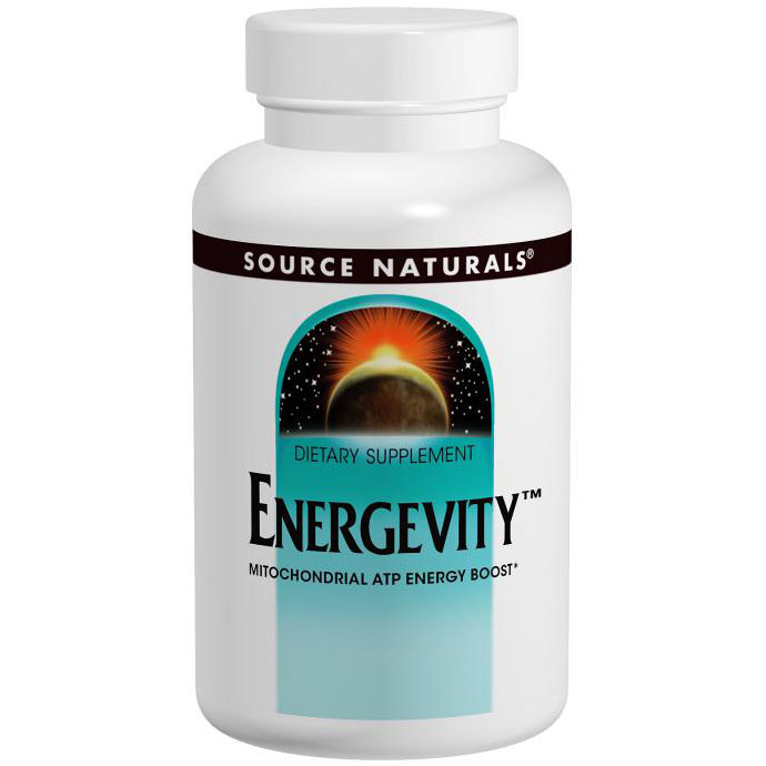 Energevity, Mitochondrial ATP Energy Boost, 30 Tablets, Source Naturals
