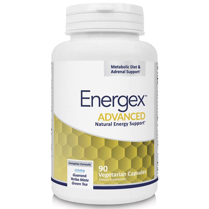 Energex, Advanced Natural Energy Support, 90 Vegetarian Capsules, Newton-Everett