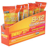 Energy B-12 Shot Single Dose, 15 ml x 8 Pack, NOW Foods
